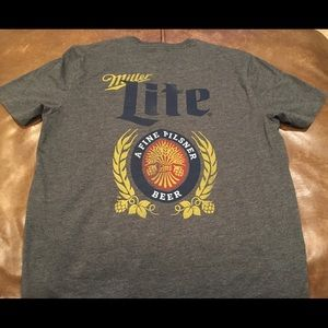 Miller Lite T-Shirt Size Medium Men's NWOT